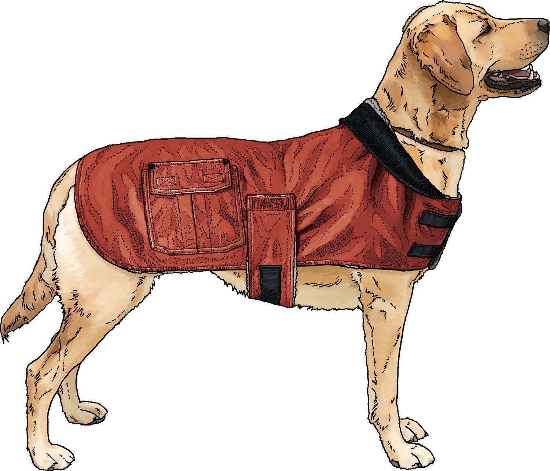 Iron Range Fire Hose Dog Jacket Dog Jacket Fire Hose Dogs