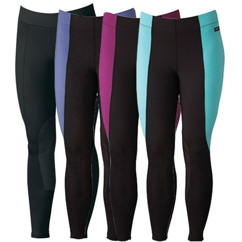 Kerrits Flow Rise Performance Tight - A proven favorite for hot weather riding, this indescribably soft yet durable lightweight tight has impeccable shape retention.