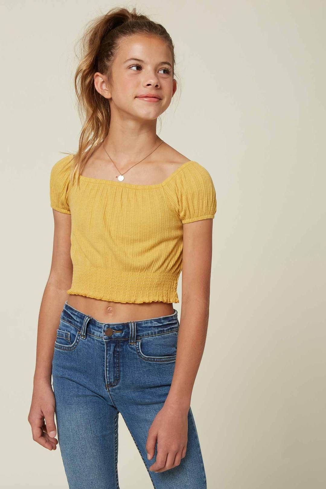 GIRLS SALLIE TOP in 2020 | Girls fashion tween, Girls knit ...