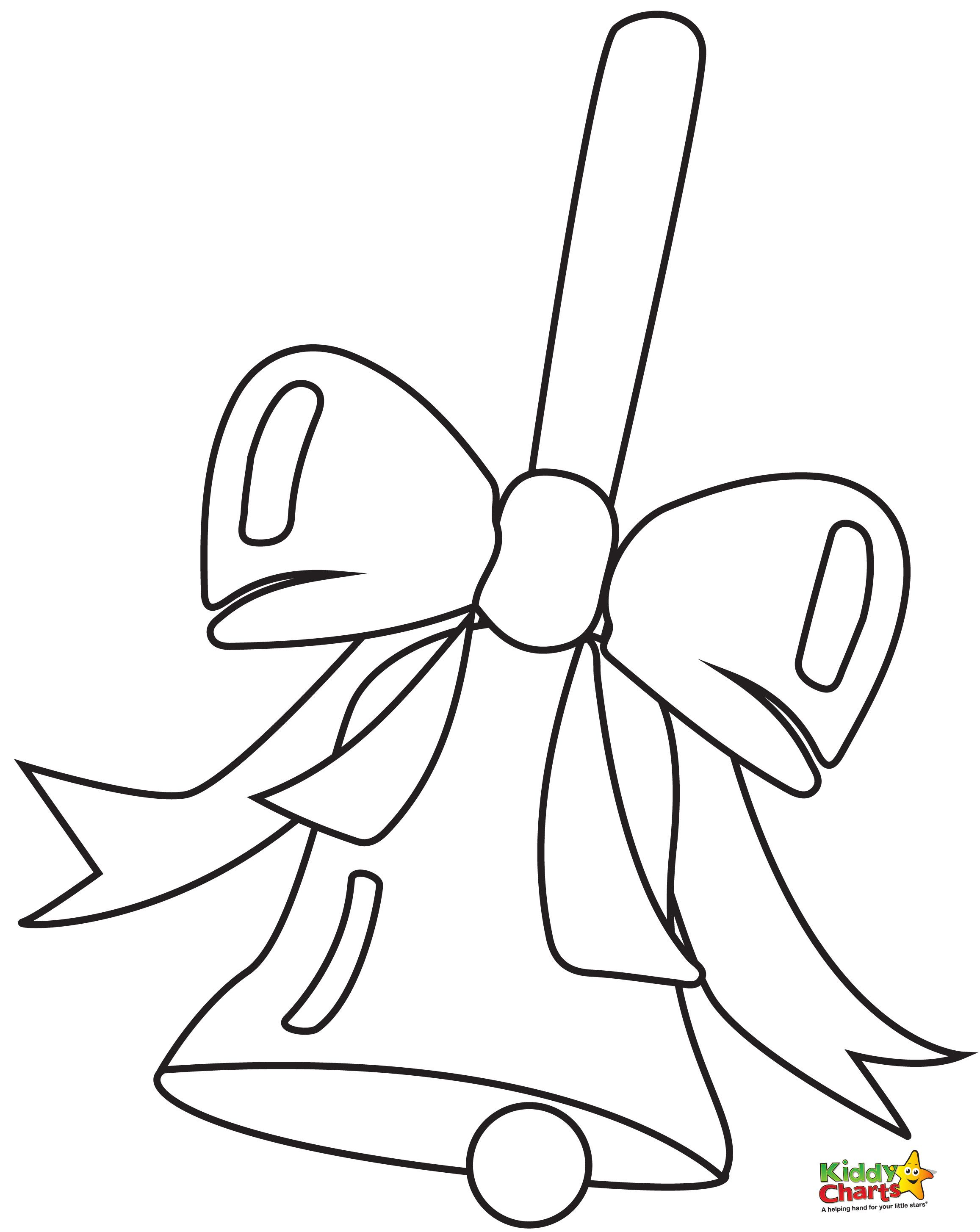 images of coloring pages of bells - Google Search ...