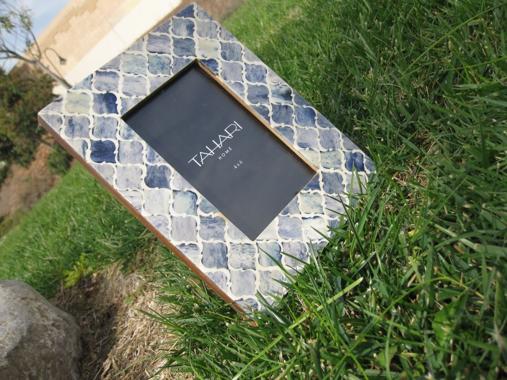 TAHARI HOME TABLETOP PICTURE FRAMES 4X6\