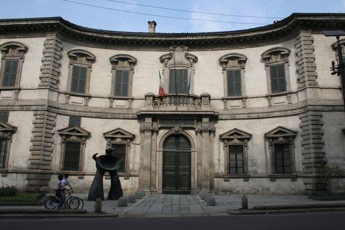 ITALIAN BAROQUE ARCHITECTURE Milan Facade Of Swiss College 1627 By Ricchino In The Principal Baroque Architect Was Francesco Mar