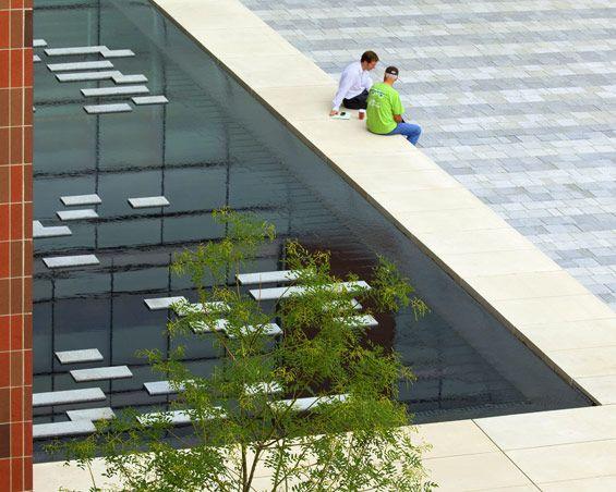 Grange Insurance Headquarters Landscape With Images Modern