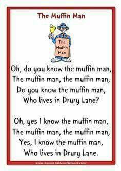 The Muffin Man Education English Nursery Rhymes