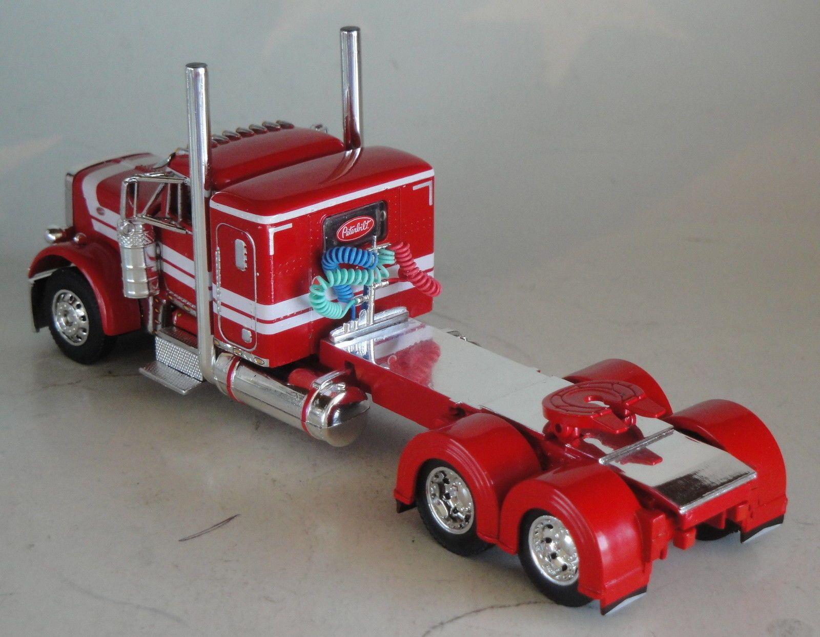 peterbilt 379 model Tractor Trailer by Jada Toys RoadRigz ...  Peterbilt Model Car