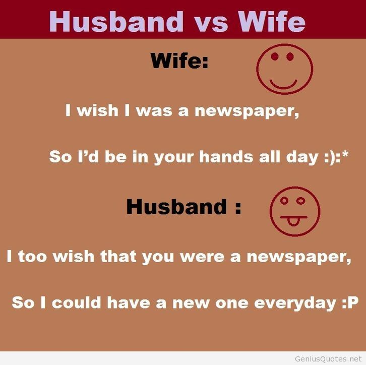 Husband And Wife Hd Quotes Cute Quotes Pinterest Wife Jokes
