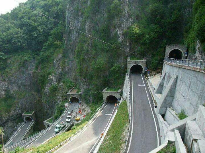 Image result for multiple tunnels