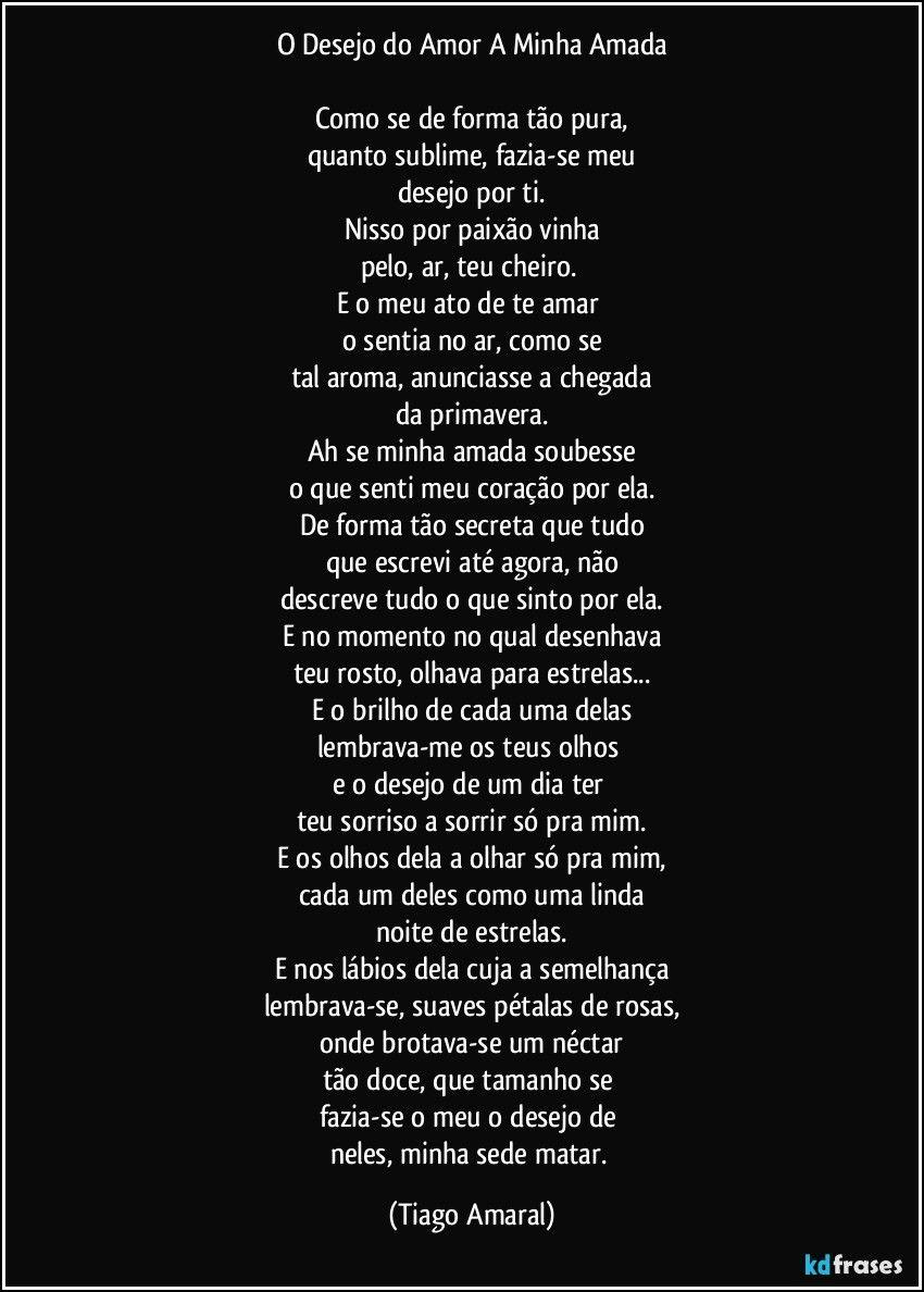 Pin Em Tiago Amaral Letras