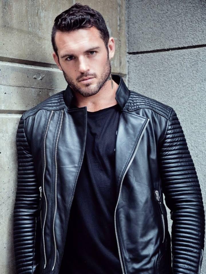 Dan Conn Leather jacket men, Sexy leather jacket, Men's