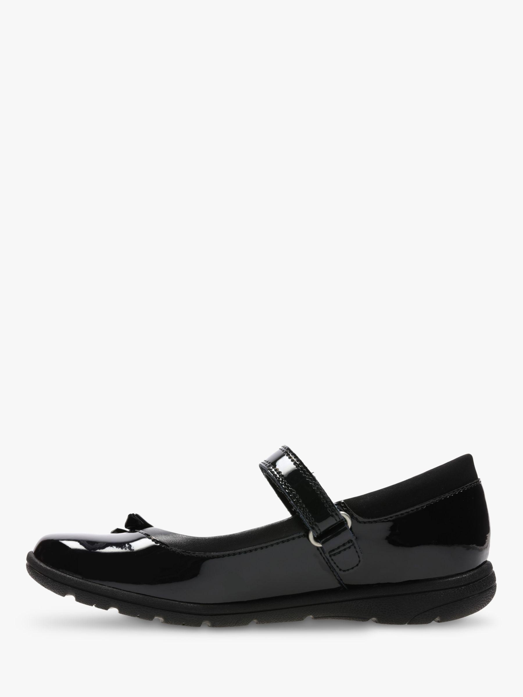 Clarks Children's Venture Star Shoes, Black Patent in 2019