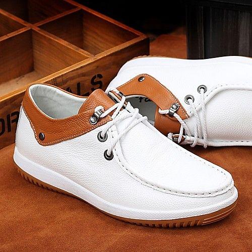 Zapatos blancos de primavera casual para hombre z8QBIhk