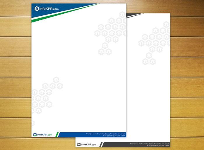 Kop Surat Infokpr Com Redesign Kop Surat Surat Desain