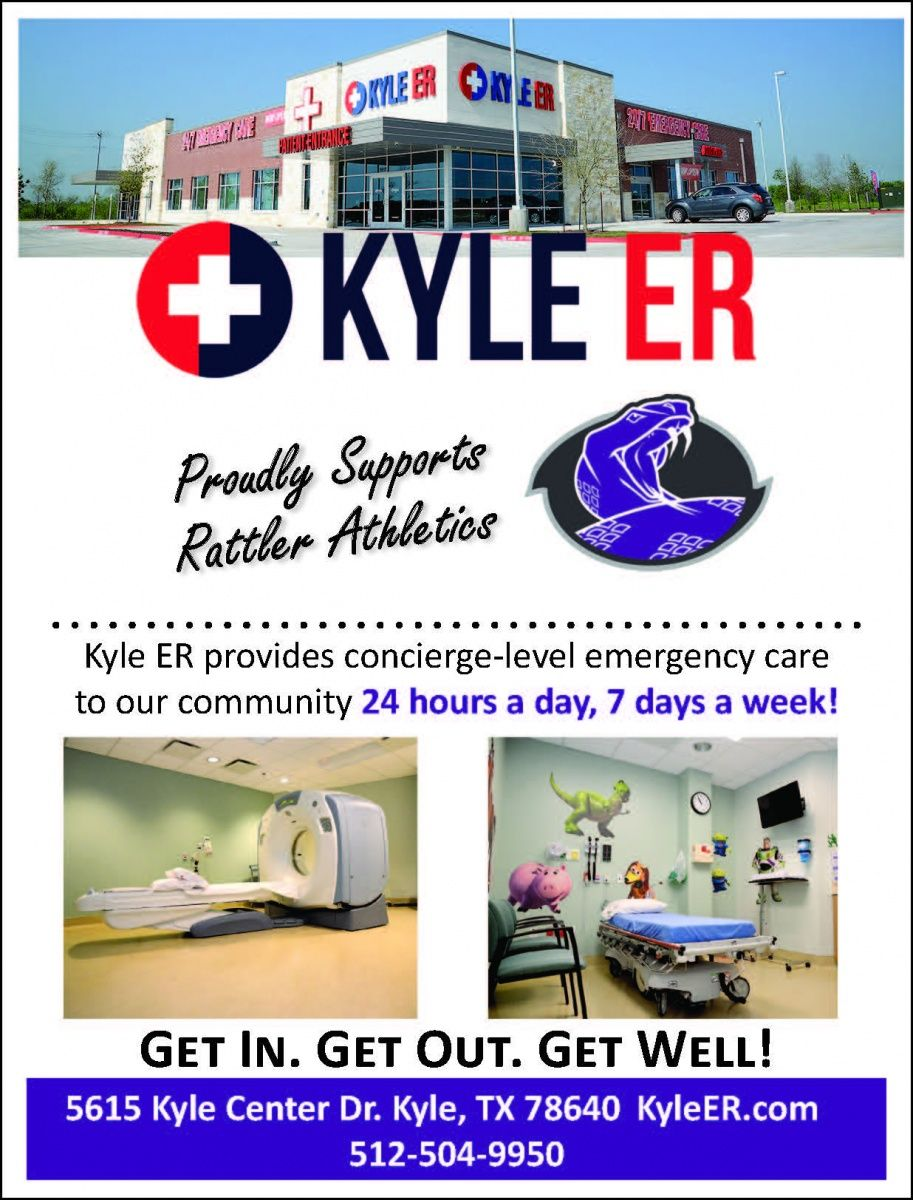 Kyle ER provides conciergelevel emergency care to our