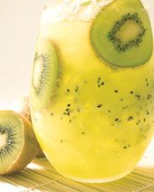 The Kiwi Caipirinha drink recipe