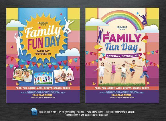 Family Fun Day Flyers | Best Flyer template ideas