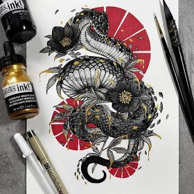 Animals - Mixture of Drawings and Paintings