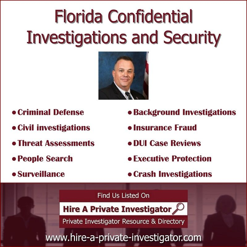 """Florida Confidential Investigations And Security"" TOP"