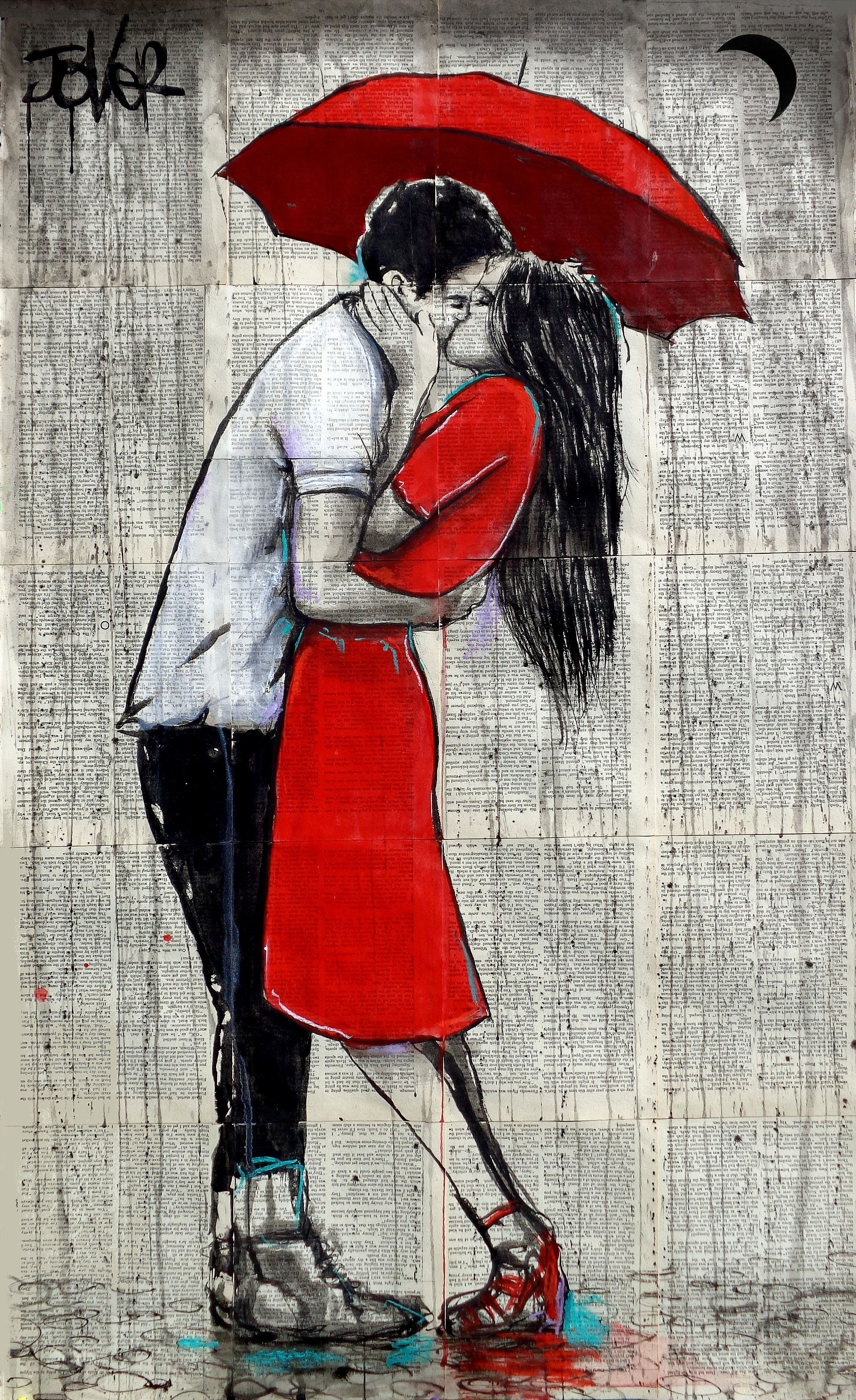 Final Kiss By Loui Jover Paintings For Sale Bluethumb Online Art Gallery Loui Jover Art Romantic Art Romance Art