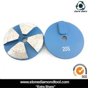 3 Inch Concrete Floor Metal Terrazzo Grinding Pad For Terrco Grinder On Made In China Com Concrete Floors Concrete Concrete Pad