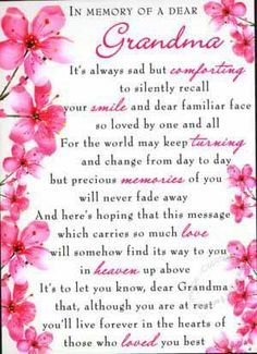 Grandma In Heaven On Mother S Day Google Search Grandma Quotes Grandmother Quotes Grandma Birthday Quotes