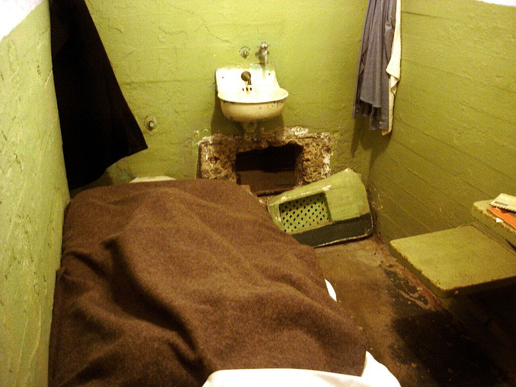 Alcatraz Cell Vent June 1962 Alcatraz Escape Attempt Wikipedia