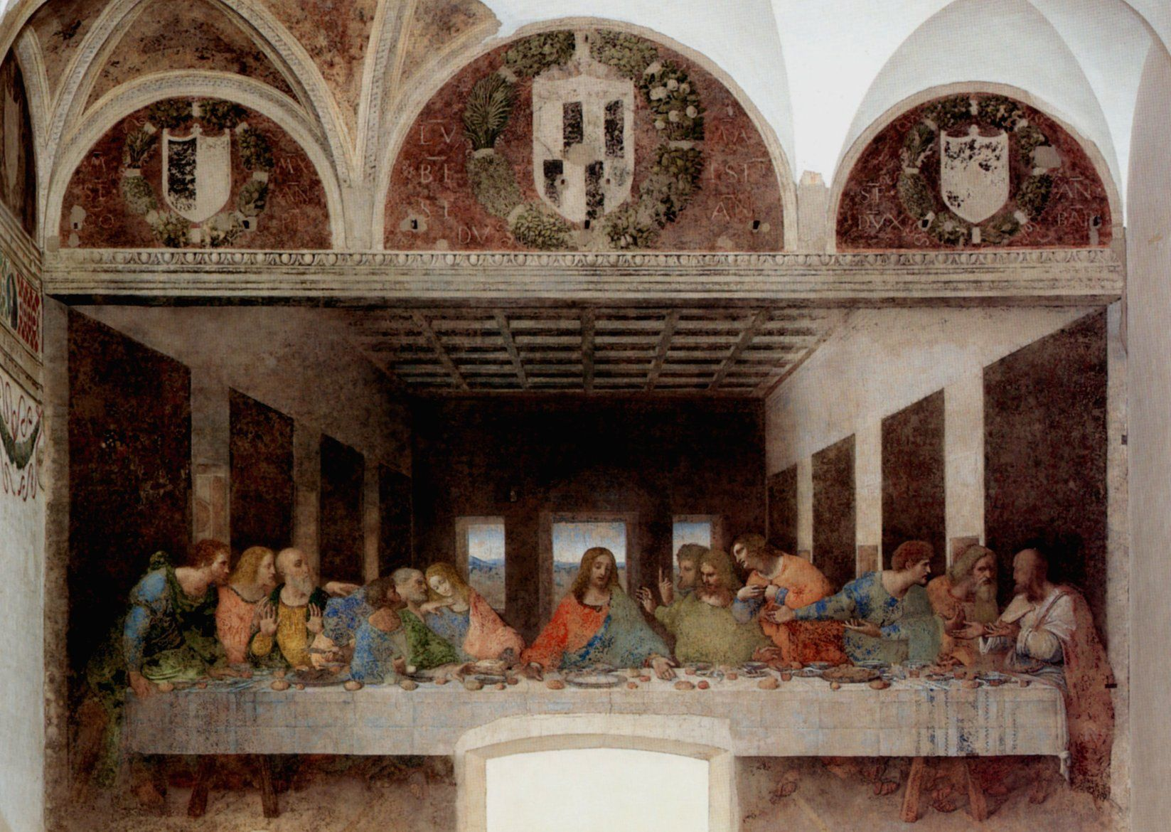The Last Supper, Leonardo da Vinci Seen it with my own ...
