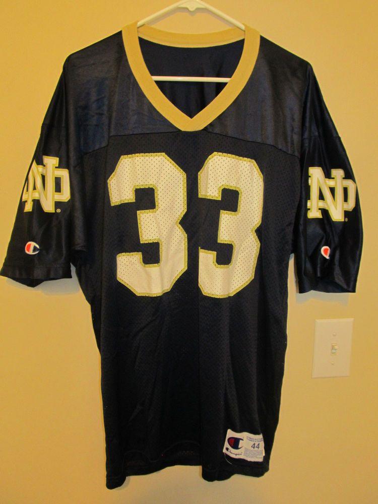 innovative design 677a2 cdf32 Vintage Notre Dame Fighting Irish football jersey - Champion ...