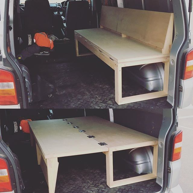 Start of van fit out frothing thanks to @dannnyogrds | Home ideas