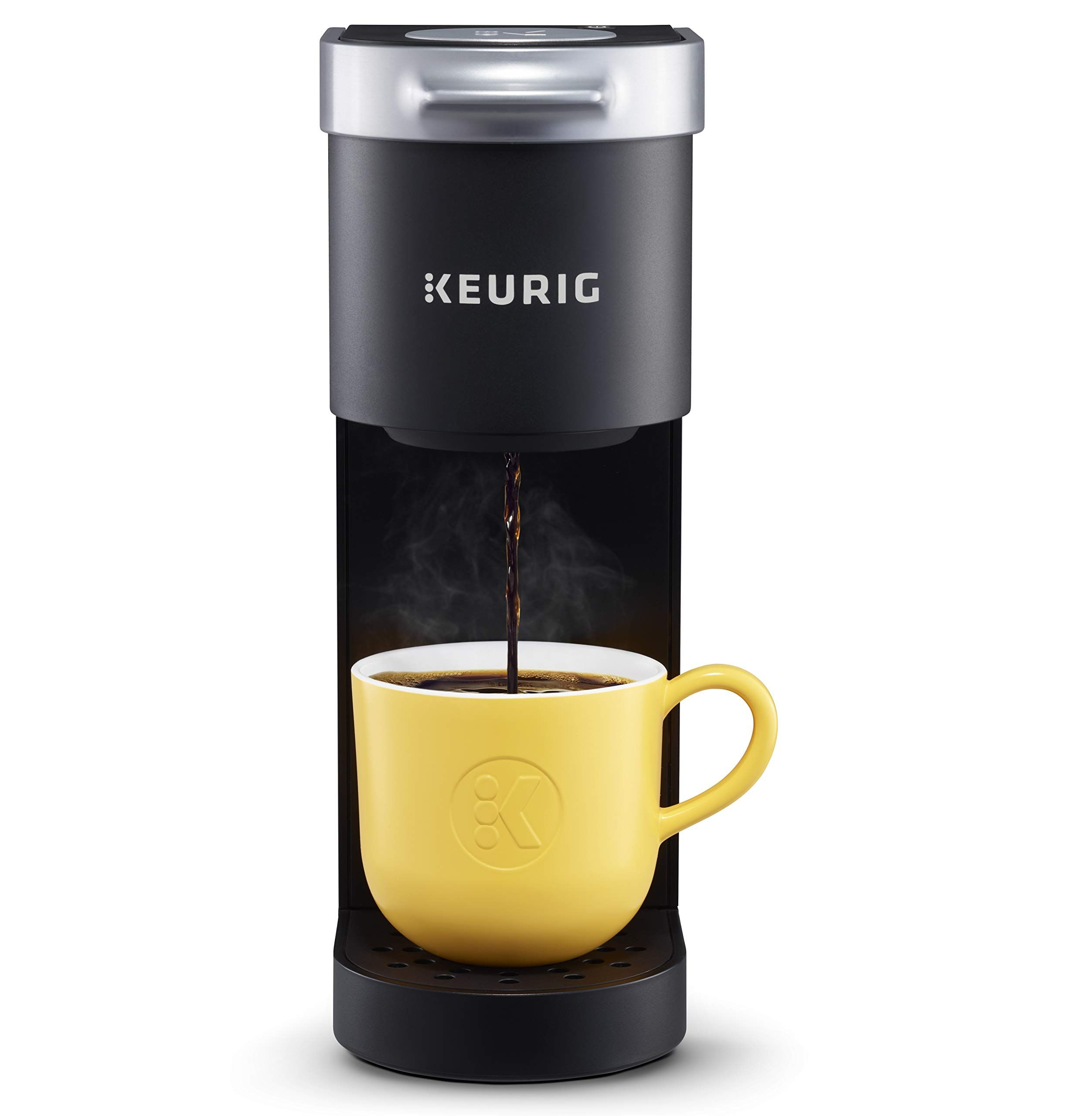 Keurig K Mini Maker Single Serve K Cup Pod Coffee Brewer 6 To 12 Oz Brew Sizes Matte Black Camping Coffee Maker Single Coffee Maker Pod Coffee Makers