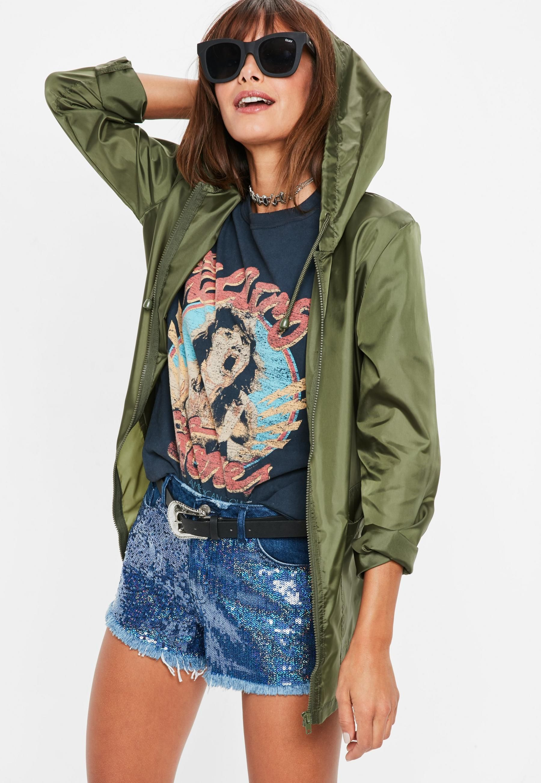 221c65c4c13 Khaki Pac A Mac | Missguided | Real Job Real Money in 2019 | Jackets ...