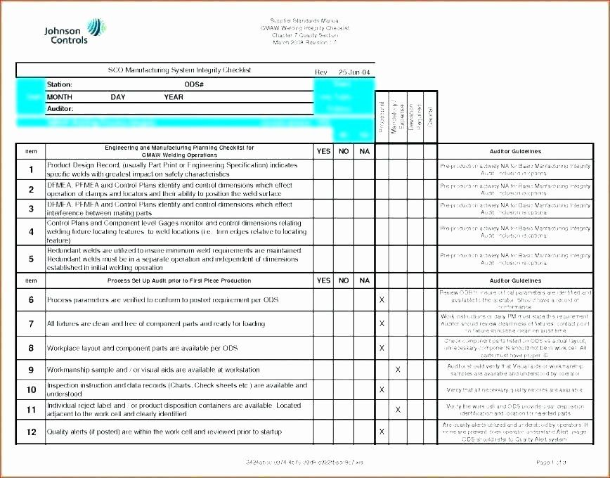 30 Quality Control Plan Template Construction in 2020