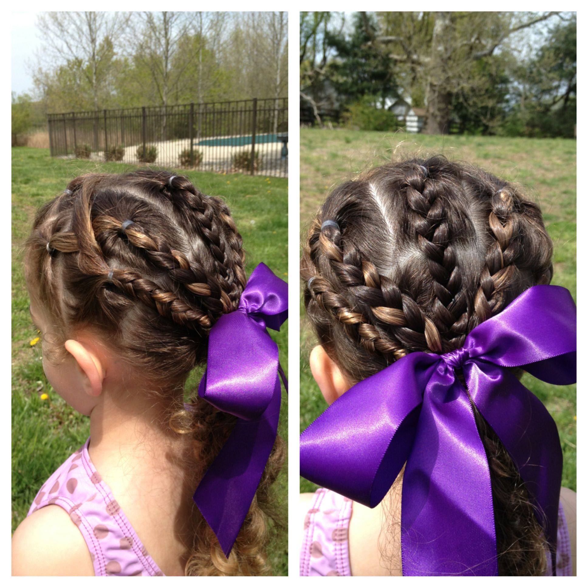 Gymnastics Hair Soccer HairstylesGymnastics HairstylesGirl