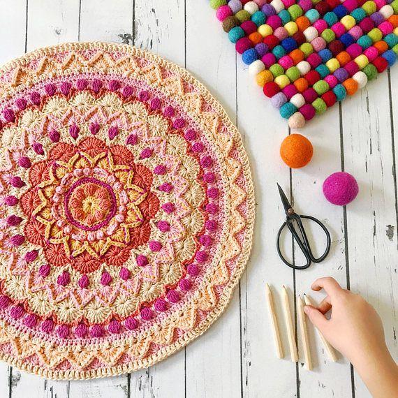 Marrakech Crochet Pattern Pack Granny Square Pattern | Crochê ...