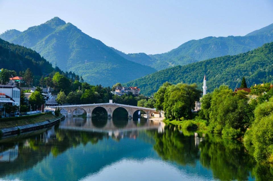 river Neretva , Konjic Bosnia and Herzegovina | Europe travel ...