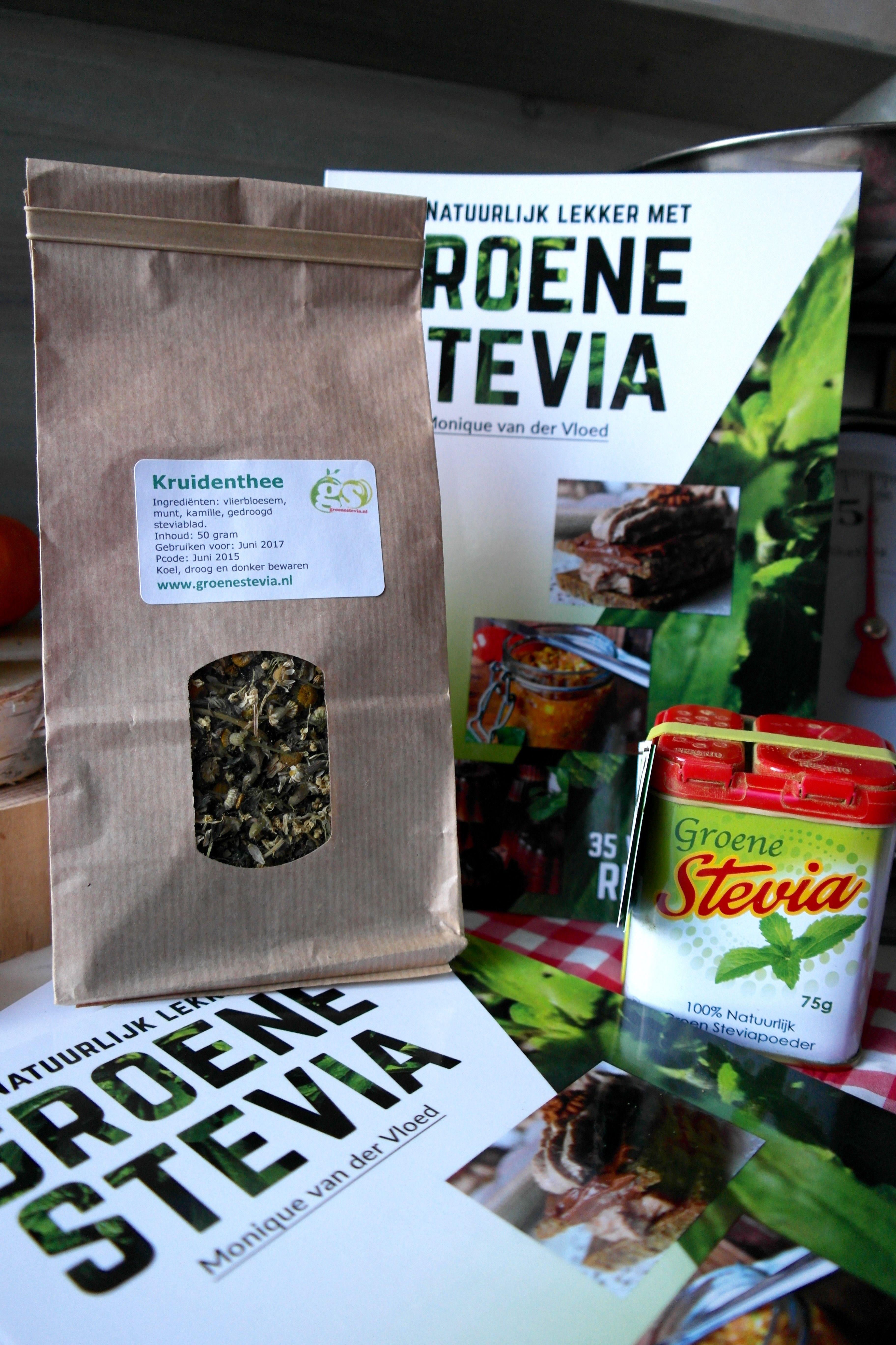 a05799f720f Meukvrij met Monique lanceert uniek boekje recepten groene stevia ...
