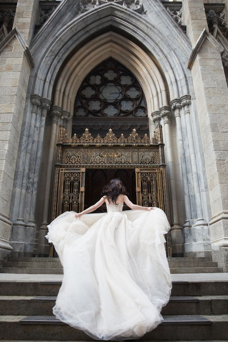 Lena Hall is a Galia Lahav Bride | Cathedrals, Galia lahav and Galia ...