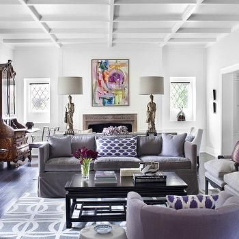 Purple Sofa   Design Photos, Ideas And Inspiration. Amazing Gallery Of  Interior Design And Decorating Ideas Of Purple Sofa In Living Rooms, Boyu0027s  Rooms, ... Part 82