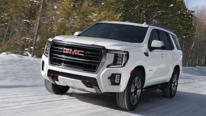 2021 Gmc Yukon Will Pull A 180 Thanks To A Hurricane Turn Feature