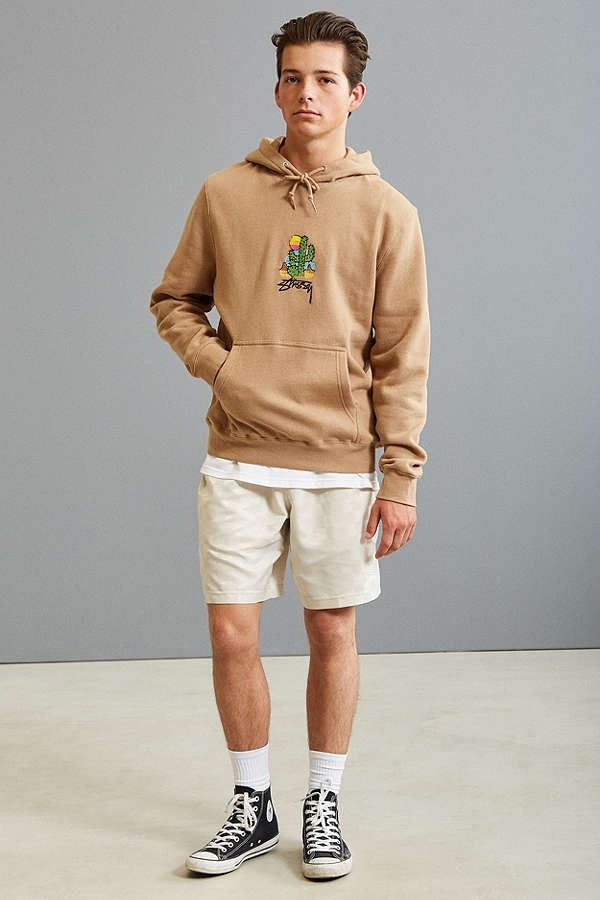 Stussy Embroidered Cactus Hoodie Sweatshirt New Arrivals
