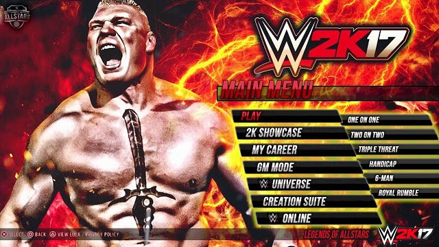 DOWNLOAD AND INSTALL WWE 2K17 FULL VERSION WITH DLC FREE FOR