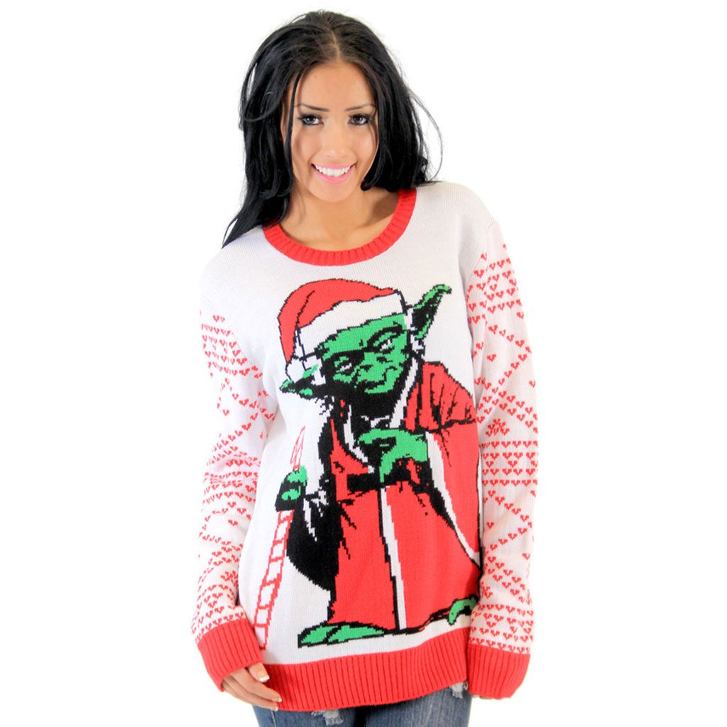 Star Wars The Force Ugly Christmas Sweater Adult Sweater