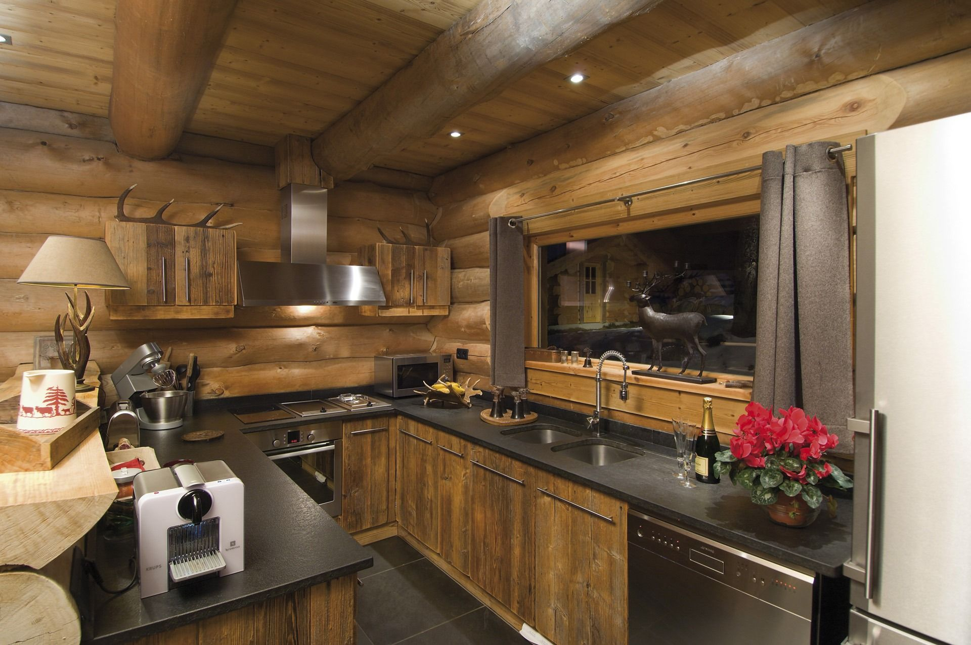 Cuisine Chalet Bois Pin By Renee D On Mountain Condo In 2019 Pinterest Chalet