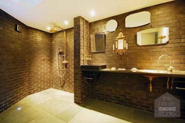 15 Striking Industrial Bathroom Designs With Modern ...