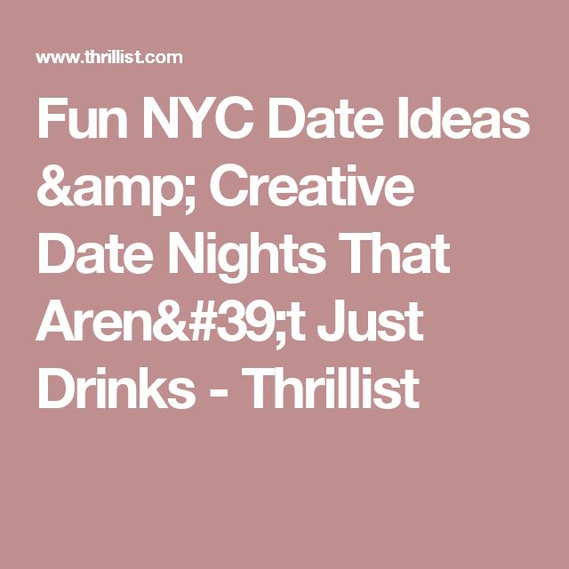 best date night ideas nyc