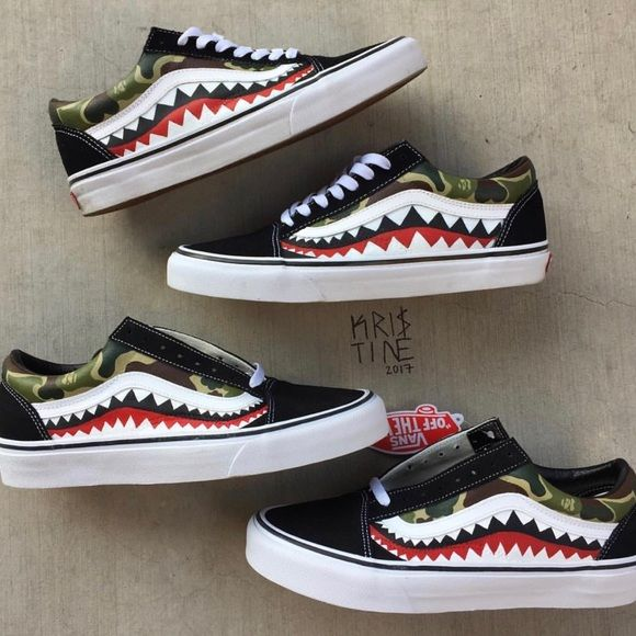 Shop Women s Vans size Various Sneakers at a discounted price at Poshmark.  Description  THE SIZING FOR THESE ARE IN WOMEN SO IF YOU WEAR MEN SIZING 695bffe96f99