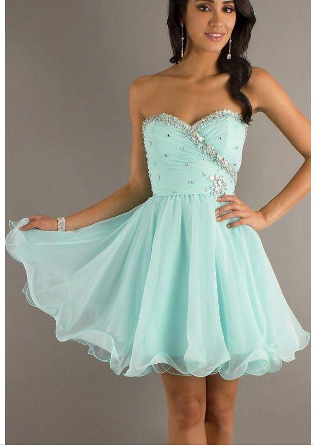 Light Blue Homecoming Dress Cute Dresses Pinterest Light Blue