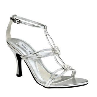 32bd8628aa3 CurvyMarket - Alana Silver Shoes TU873 | Alana Silver evening shoes ...