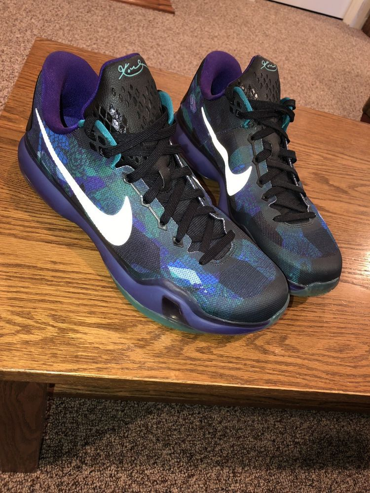 watch dce5a 0d026 Nike Kobe Bryant X 10 Overcome Size 13 Emerald Glow Purple Reflect  705317-305 #fashion #clothing #shoes #accessories #mensshoes #athleticshoes  (ebay link)