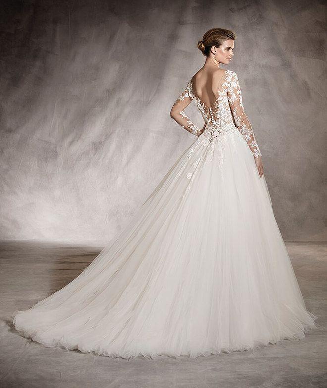 60 vestidos de novia con espaldas impresionantes   vestidos de novia