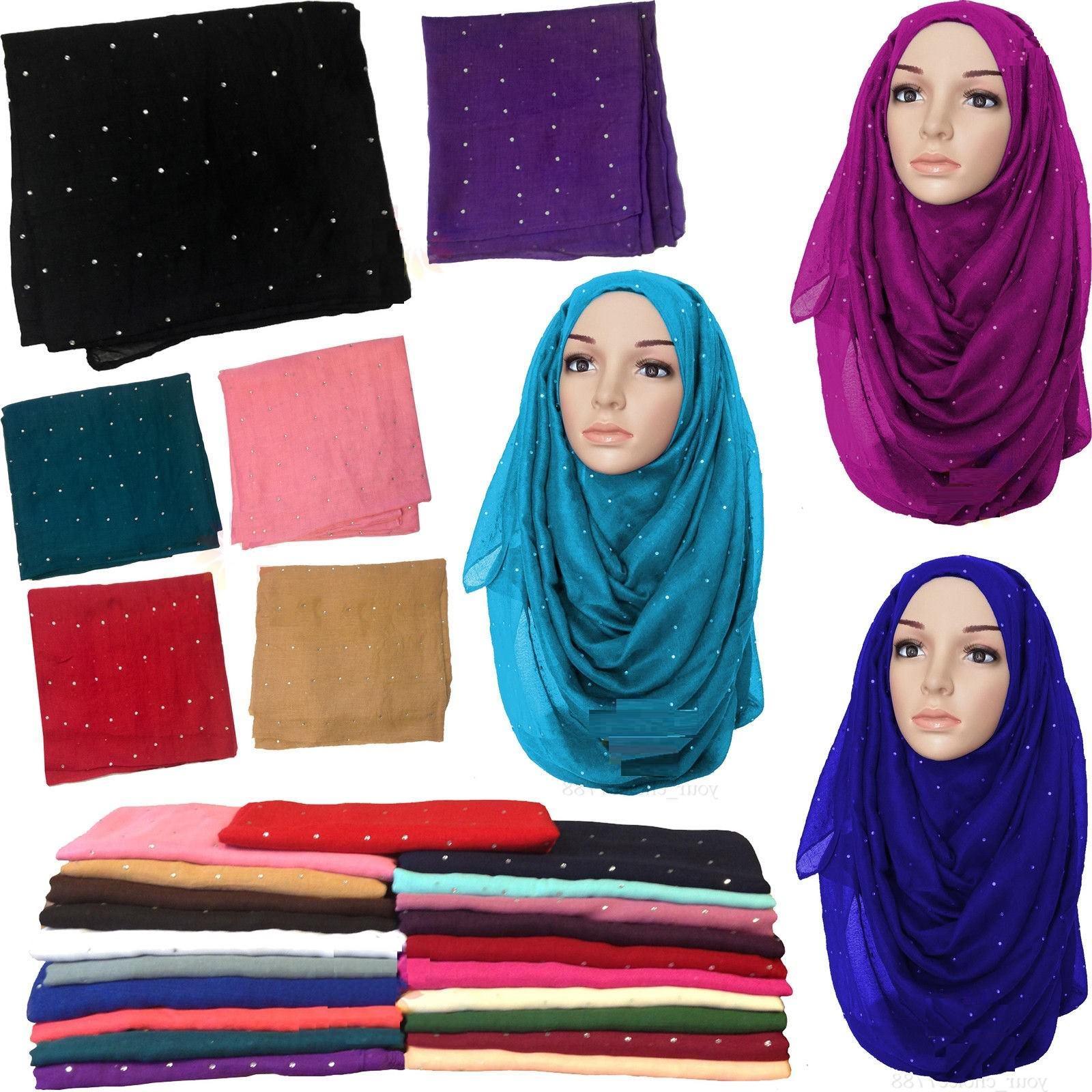 Big Large Maxi Plain Viscose Rayon Shawl Scarf Hijab Sarong Wrap Cape *stone